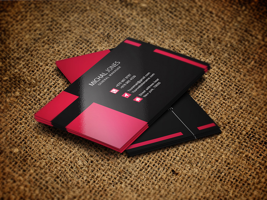 Custom business cards visiting card corporate brand design company psychology behind creating eye catchy business cards reheart Images